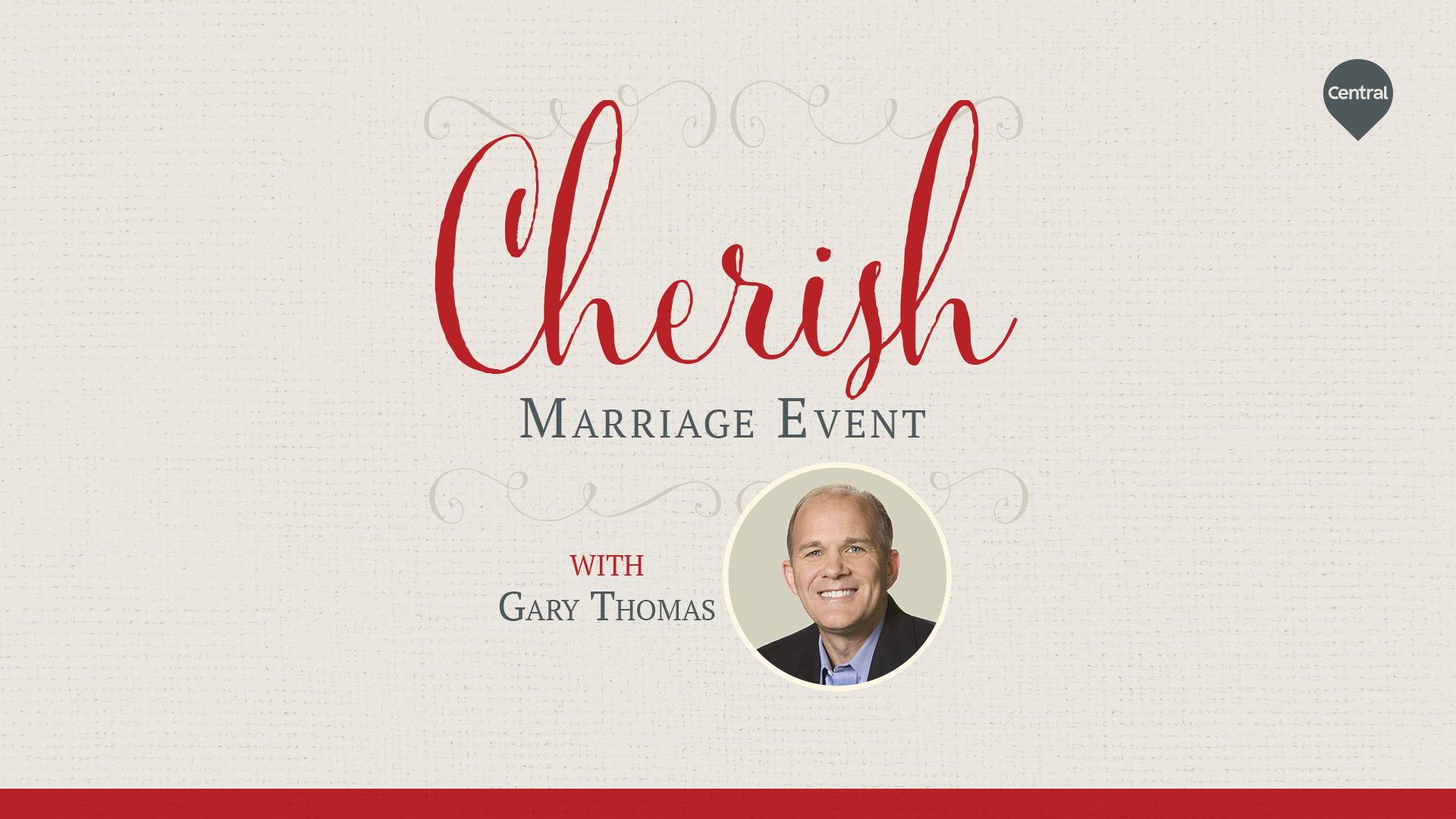 Cherish: A Marriage Event with Gary Thomas