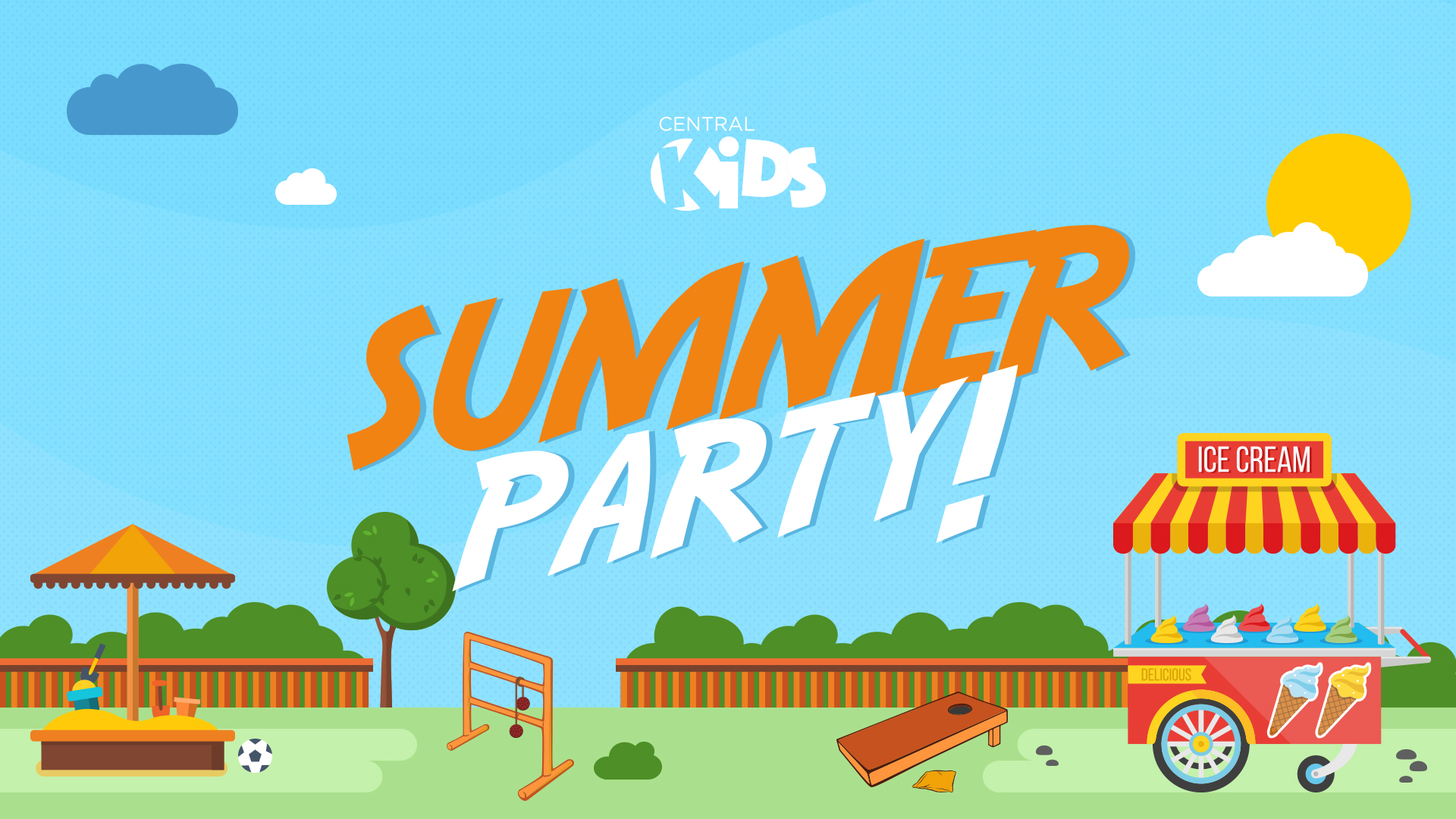Central Kids Summer Party